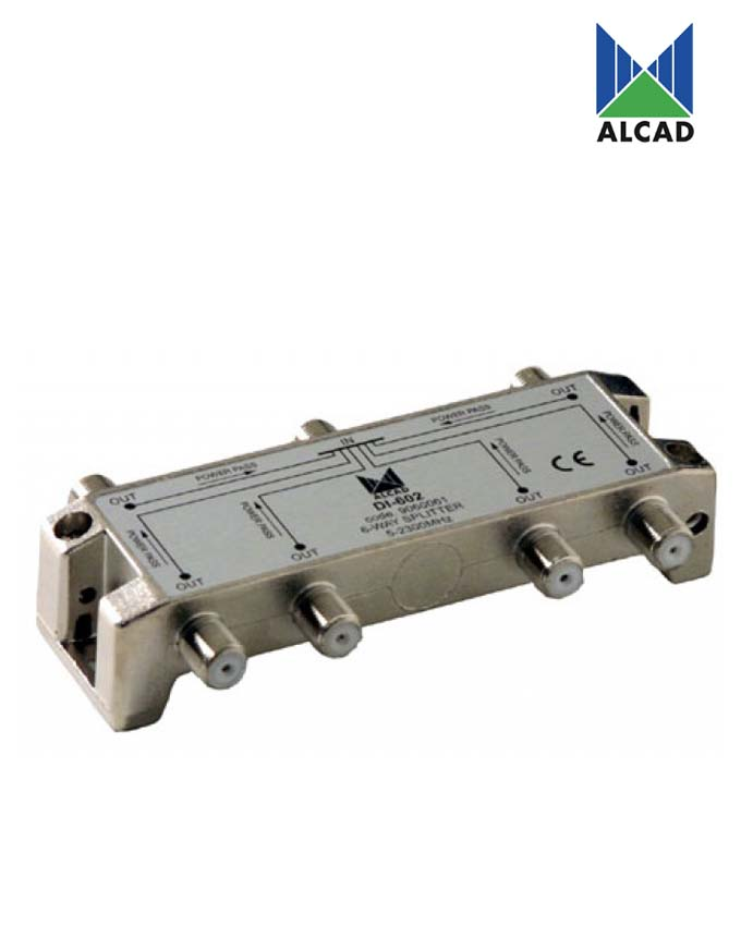 Alcad DI-602 6-Way Splitter